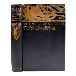 "Anatole France ""Well of St. Clare"" 1928 Book"