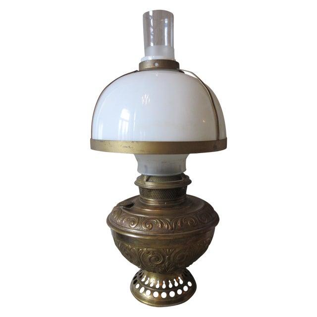 Image of Antique B & H Railroad Corporation Train Lamp
