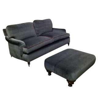 George Smith Sofa with Ottoman