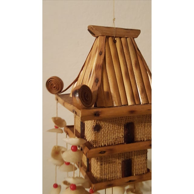 Oriental Pagoda with Sea Shell Chimes - Image 6 of 7