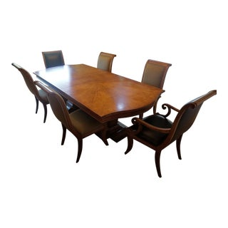 Century Furniture National Trust Collection Dining Table & Chairs - Set of 7