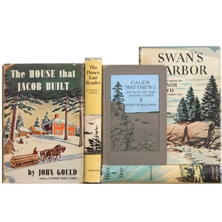 Vintage Maine Lover's Books - Set of 5