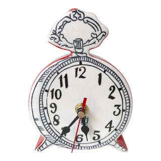 Molly Hatch Ceramic Table Clock