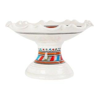 Moroccan Ceramic Coupe Plate