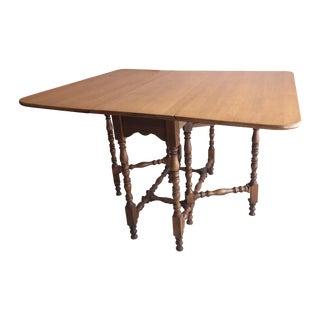 William & Mary Style Gateleg Table