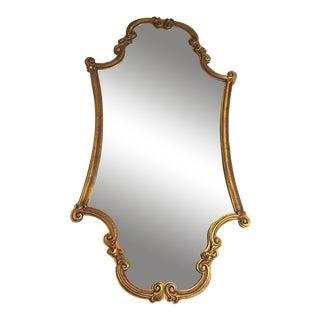 Art Deco Gold Leaf Mirror