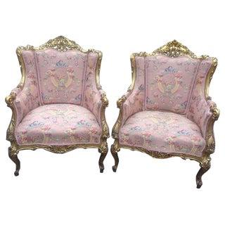 French Louis XVI Chairs - A Pair