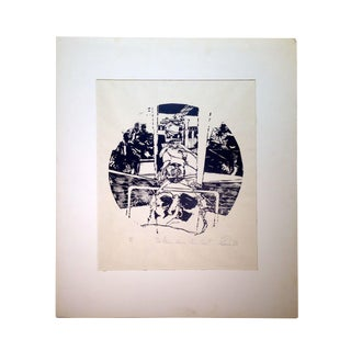 """Roy Ragle """"Is There Some Other End?"""" Print"""