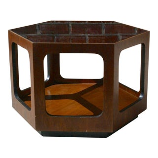 1970s Lane Hexagon Accent Table