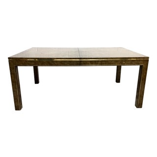 Bernhard Rohne for Mastercraft Burl Dining Table