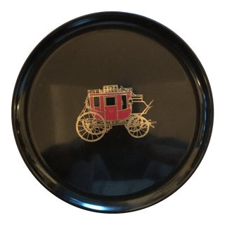 Couroc of Monterey Carriage Serving Tray