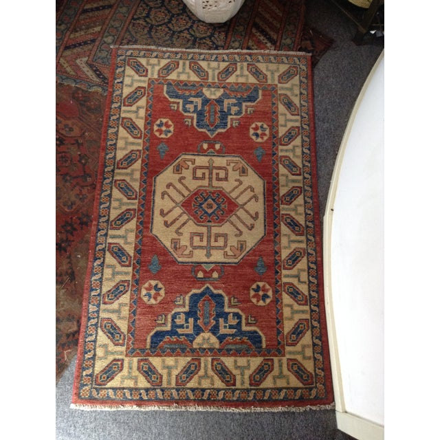 Hand Knotted Wool Rug - 3' x 5' - Image 2 of 7