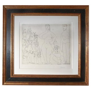 Signed and Numbered Picasso Lithograph