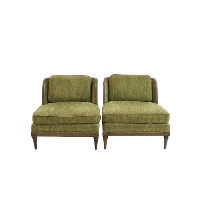Image of MCM Club Chairs by Drexel - Pair