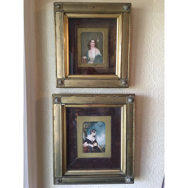 19th Century Oil on Ivory Painting - Image 5 of 7
