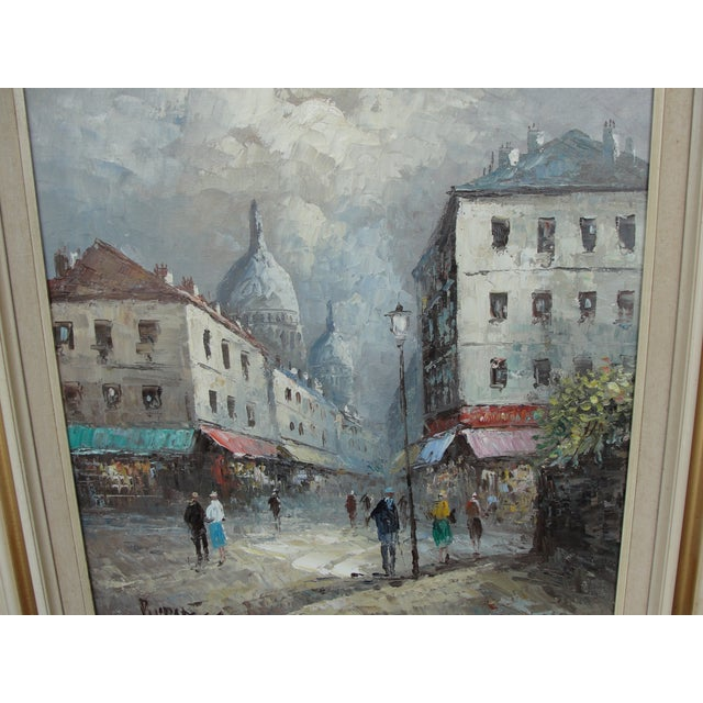 Caroline Burnett Streets Of Paris Oil Painting Chairish
