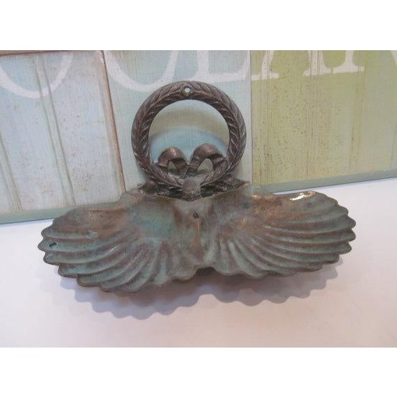 Image of Brass Clam Shell Double Style Dish