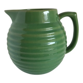 Rustic Pottery Pitcher