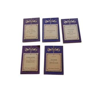 Classiques Larousse Purple Books - Set of 5