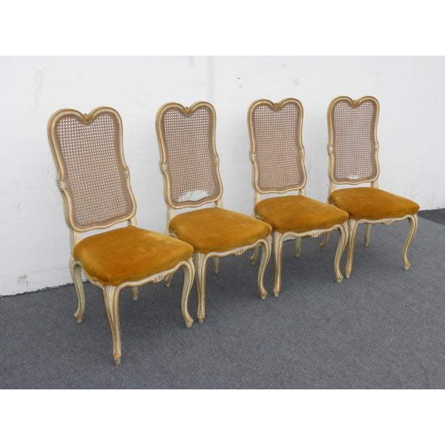 Vintage Karges Louis XV Style Cane Back Chairs - Image 3 of 11