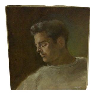 """Side Portrait"" Original Painting by F. McDuff"