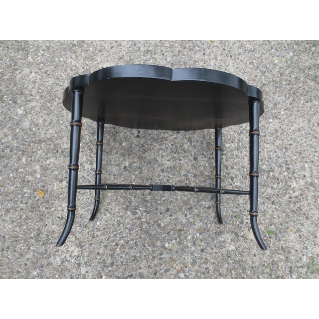 Vintage British Chinoiserie Tray Table - Image 7 of 8