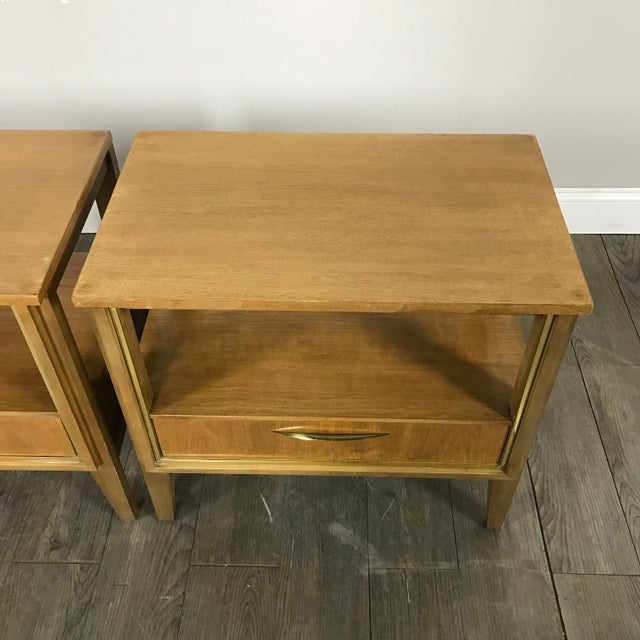 Mid Century Nightstands - a Pair - Image 6 of 11