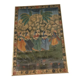 Deity Painting on Silk