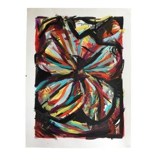 "Jessalin Beutler ""No. 57"" Acrylic Painting"