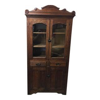 Vintage Glass Front Cabinet