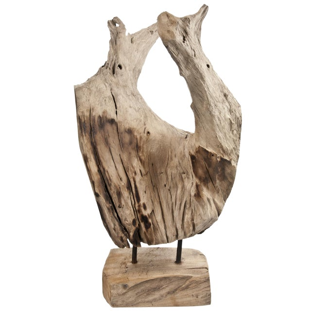 Indonesian Driftwood Fragment With Stand - Image 5 of 5