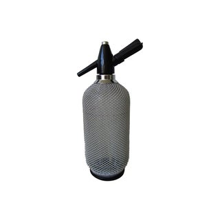 Crome Mesh Seltzer Bottle