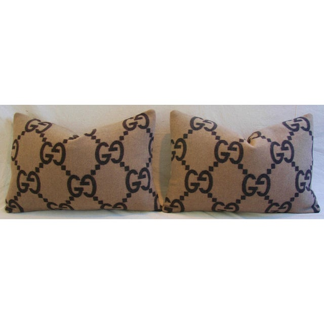 Gucci Cashmere & Velvet Pillows - A Pair - Image 5 of 10