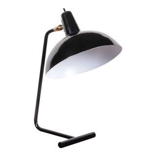 Black Painted Steel Desk Lamp