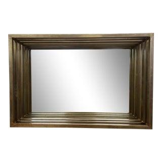 Vintage Metal Mirror