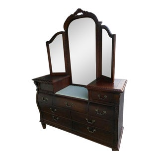 Stanley Furniture Solid Wood Vanity / Dresser
