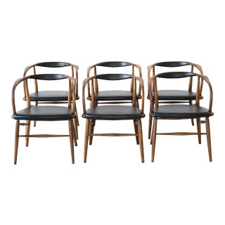 Set of Bentwood Dining Chairs