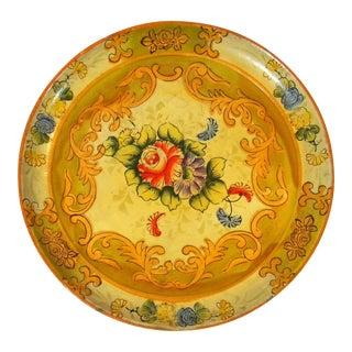 Vintage Paper Mache Plate