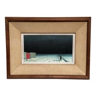 20th Century Eningo Pelouse Surrealist Painting