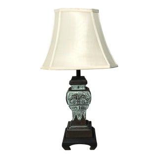 James Mont Hollywood Regency Bronze Lamp