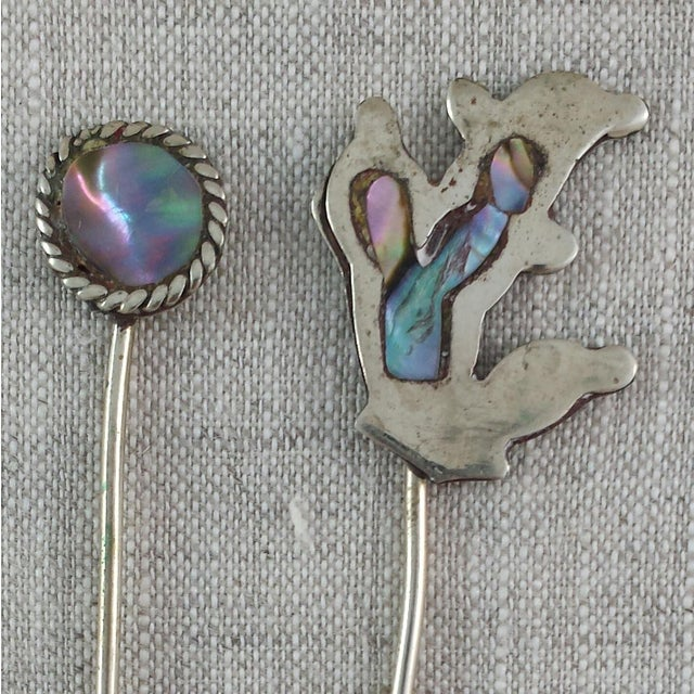 Vintage Alpaca Cocktail Forks - Set of 11 - Image 4 of 10