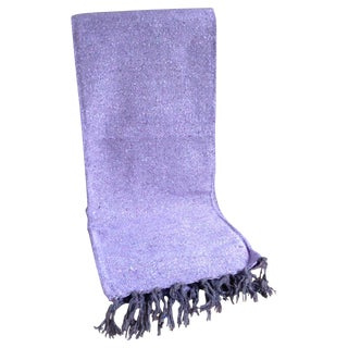 Mexican Boho Chic Lavender Throw