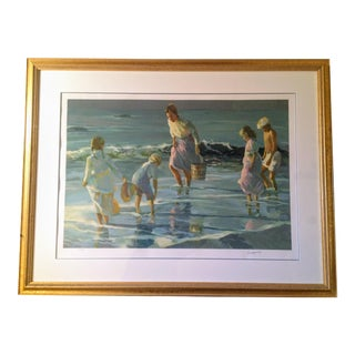 """By the Sea"" Serigraph"