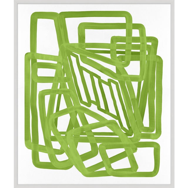 """'Lime Equation 1"""" Print, Meg Braff for Wendover Art - Image 2 of 3"""