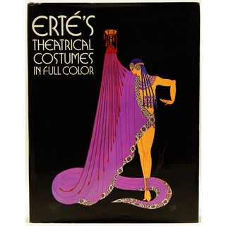 Erte's Theatrical Costumes, Signed Limited Edition