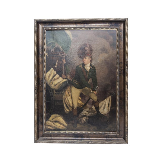VIntage Reproduction Officer Painting - Image 1 of 10
