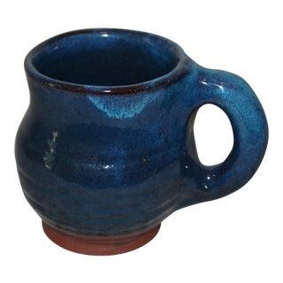 Harding Black Art Pottery Blue Mug