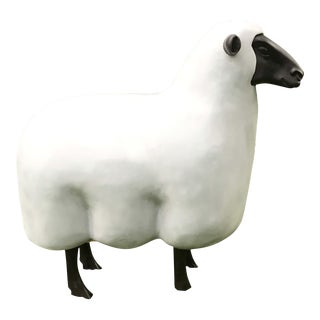 Outdoor Hand Made Lalanne Bronze Sheep (in the Style of)