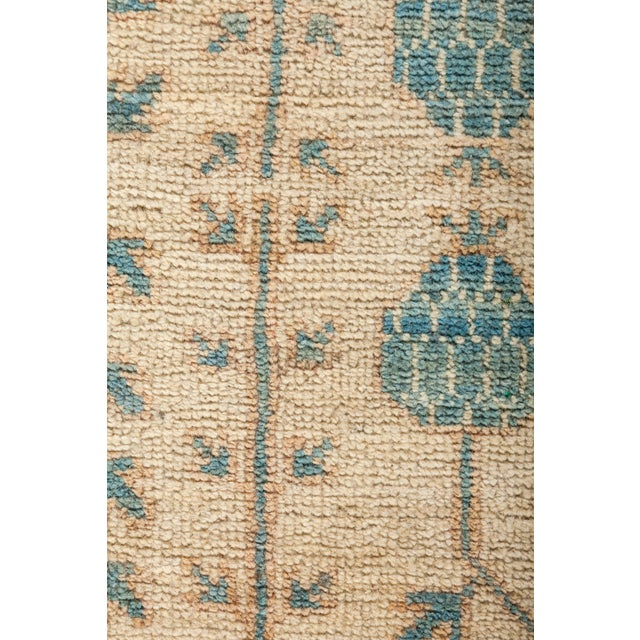 """New Hand-Knotted Khotan Rug - 5'4"""" X 6'10"""" - Image 3 of 3"""