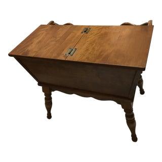 Wooden Ethan Allen Doughbox